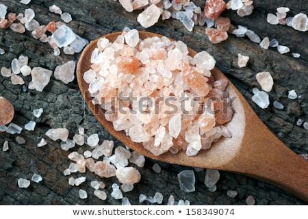 Spoonfull of Pink Rock Salt Stock photo © raptorcaptor