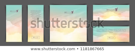 Atmosphere of the morning vertical Stock photo © nuttakit