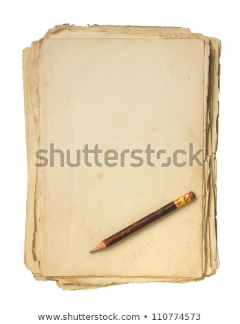 Pencils and Parchment Background Stock photo © frannyanne