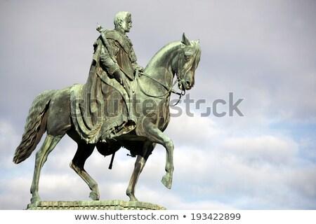 King John Statue Dresden Stock photo © w20er