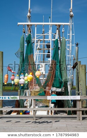 Docked Shrimpers Boats Stock photo © sframe