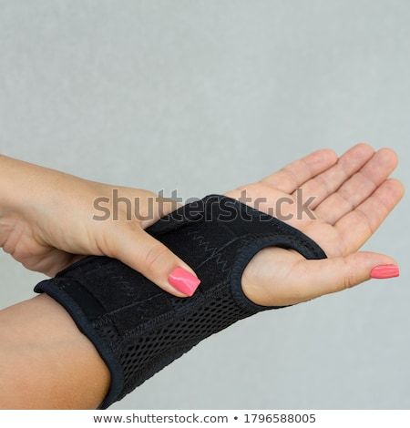 elbow support stock photo © belahoche