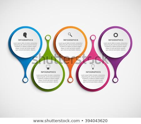 Photo stock: Design · infographie · société · Ouvrir · la