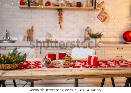 Cookie on a table Stock photo © Novic