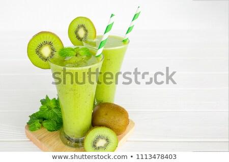 キウイ · ジュース · フルーツ · カクテル · 冷たい · 甘い - ストックフォト © M-studio