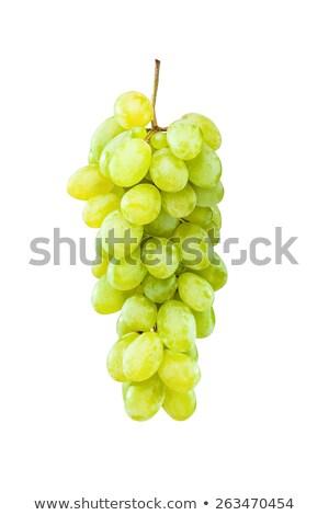 зрелый зеленый виноград подвесной белый свежие фрукты Сток-фото © kokimk