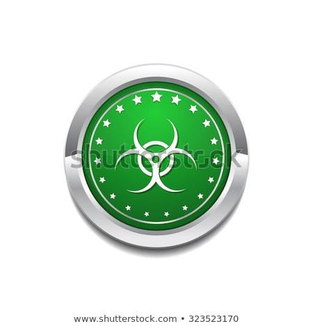 危険標識 · 緑 · ベクトル · アイコン · ボタン · インターネット - ストックフォト © rizwanali3d