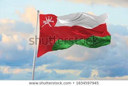 Flag of Oman Stock photo © Bigalbaloo