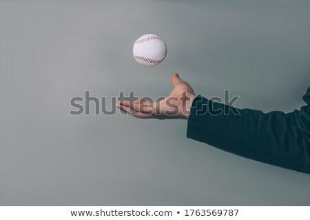 Homem jogar bola foto sem camisa vôlei Foto stock © pressmaster