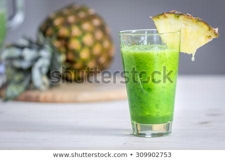 vers · ruw · mint · bladeren · leven · gezonde - stockfoto © zerbor