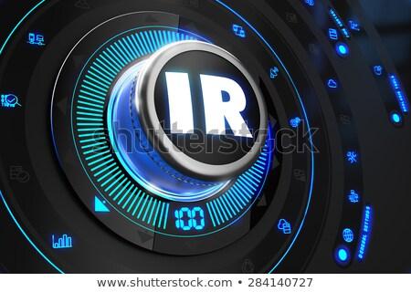 IR Controller on Black Control Console. Stock photo © tashatuvango