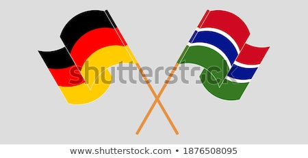 Germany and Gambia Flags Stock photo © Istanbul2009