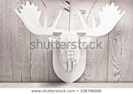 Decorative elk head Stock photo © -Baks-