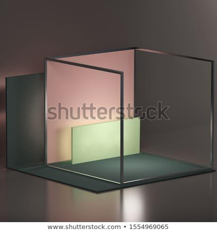 Empy gray interior Stock photo © IMaster