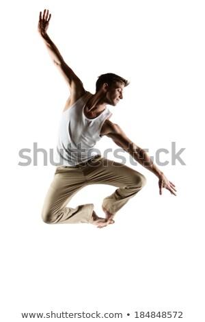 Stok fotoğraf: Kafkas · erkek · dansçı · yetişkin · beyaz
