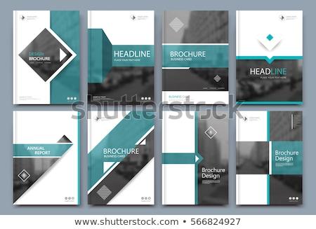 üzlet terv szöveg zöld tábla csoport Stock fotó © fuzzbones0