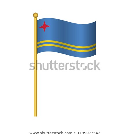 bayrak · vektör · görüntü · soyut · dizayn - stok fotoğraf © Amplion