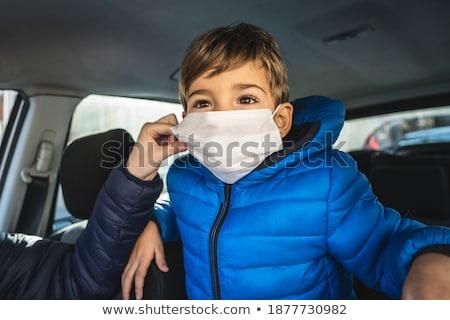 Klein kind hand helpen achtergrond leuk Stockfoto © julenochek