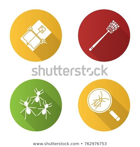Establecer icono vector diseno fondo arte Foto stock © jiaking1