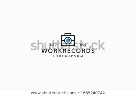 Iş arama objektif kamera fotoğraf renkli Stok fotoğraf © tashatuvango