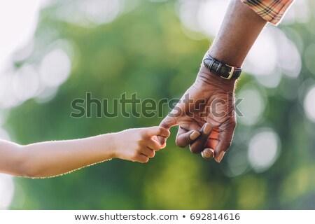 Abuelo nieta familia hombre retrato felicidad Foto stock © IS2