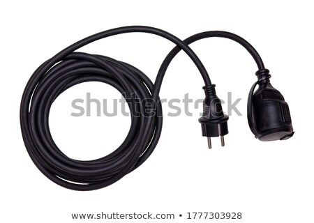 Extension cord in a coil Stock photo © IS2