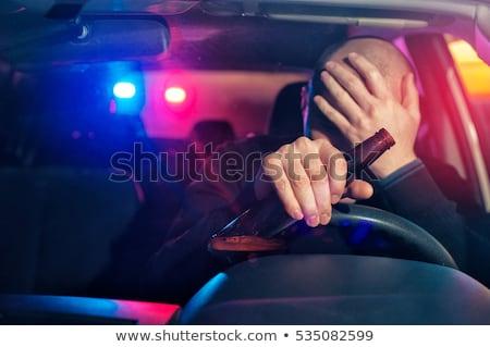 pijany · kierowcy · test · komisarz · drogowego · ulicy - zdjęcia stock © vladacanon