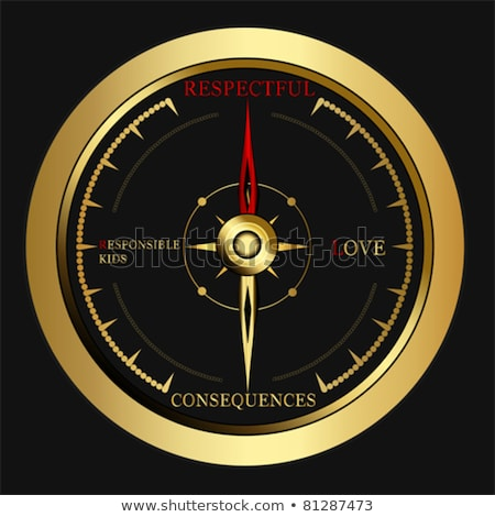 Compass on White Background, Bad Concept Stock photo © make