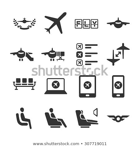 vliegtuigen · realistisch · illustratie · geïsoleerd · witte · reizen - stockfoto © bluering