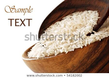свежие сырой органический басмати долго зерна Сток-фото © DenisMArt