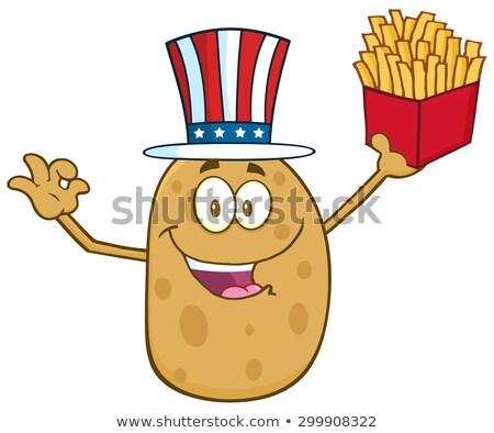 Americano batata Foto stock © hittoon