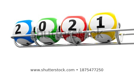 Lottery balls 2020 frame Stock photo © Oakozhan