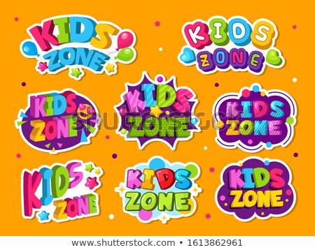 Child friendly area concept vector illustration Stock photo © RAStudio