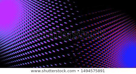 Siyah kırmızı mavi soyut seksenler stil Stok fotoğraf © rogistok