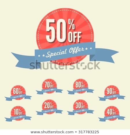 Najlepszy zniżka 30 procent banner Zdjęcia stock © robuart