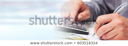 Audit and Tax Banner Stock photo © -TAlex-