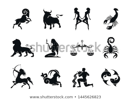 Aries Astrology Element for Horoscope Zodiac Sign Stock photo © robuart