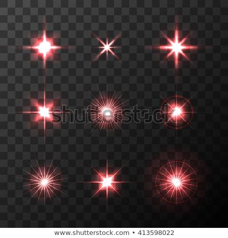 Lumineuses rouge éclairage effet magie transparent Photo stock © evgeny89