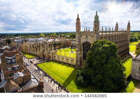 Cambridge inglaterra típico histórico pedra edifício Foto stock © jeayesy