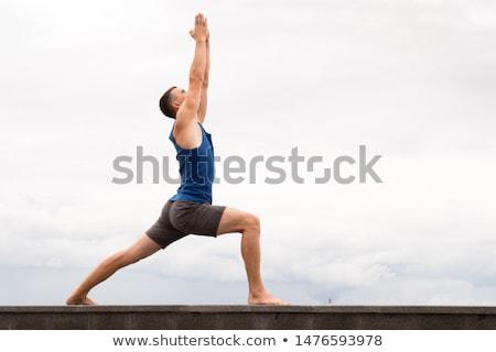 Young yoga man stock photo © Paha_L