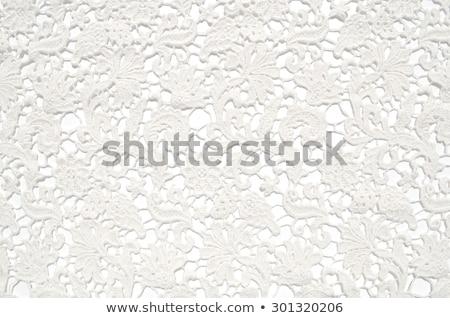 beautiful white lace background  stock photo © inxti