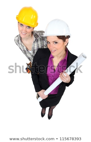 businesswoman and craftswoman posing together stock photo © photography33