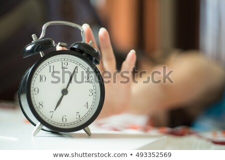 Woman stopping Alarm Stock photo © photography33