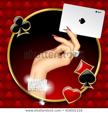casino · party · teatro · poker - foto d'archivio © carodi
