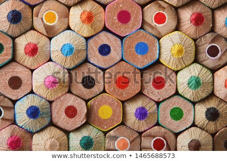 Colouring pencil ends Stock photo © sumners