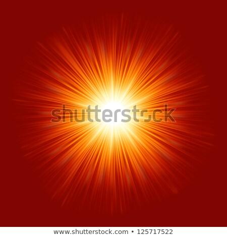star · rosso · giallo · fuoco · eps - foto d'archivio © beholdereye