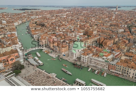 Panoramic view to Grande Canal in Venice, Italy Stock photo © AndreyKr
