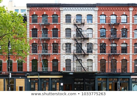 Apartment building in nyc Stock photo © mikdam
