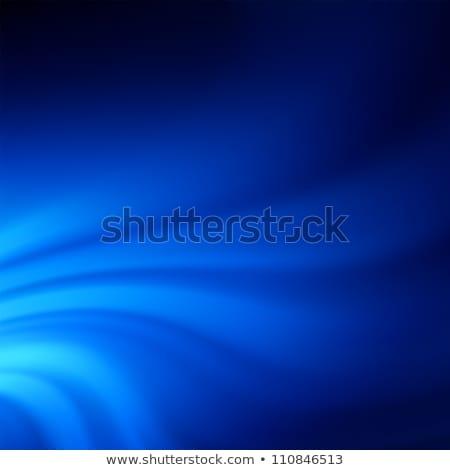 Blue smooth twist light lines. EPS 8 Stock photo © beholdereye