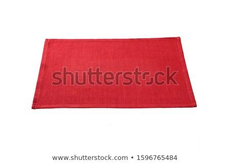 Piros terv háttér ipar szövet padló Stock fotó © ozaiachin